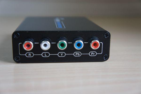 Lkv384_02 出力は音声アナログとコンポーネント出力.D端子に接続するにはコンポーネ...